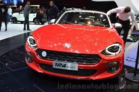 fiat spider 2016 fiat 124 spider front at 2016 geneva motor show indian autos blog