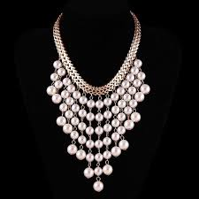 white pearl beaded necklace images 19 pearl necklace jewelry designs ideas design trends jpg