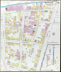 Rutgers Map New Brunswick New Jersey Sanborn Maps