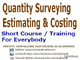 Construction Estimating Classes by Quantity Surveying Construction Estimating And Costing Course