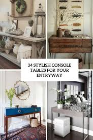 Console Table For Living Room by 34 Stylish Console Tables For Your Entryway Digsdigs
