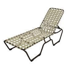 Patio Furniture For Big And Tall by Marco Island Brownstone Commercial Grade Aluminum Patio Chaise
