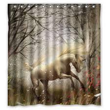 White Tiger Shower Curtain Online Get Cheap White Shower Curtains 66x72 Aliexpress Com