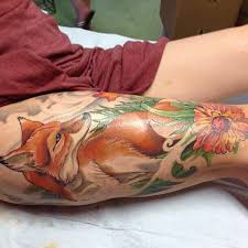 45 fox tattoos eye catching u0026 unique designs