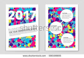design of cover page for project abstract vector layout background set art stock vector hd royalty