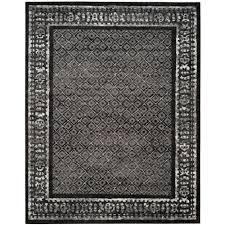 safavieh amsterdam black multi 9 ft x 12 ft area rug ams108p 9