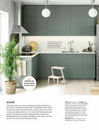 ikea grey green kitchen cabinets ikea