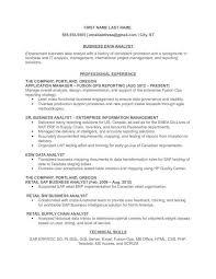 sample resume for senior business analyst consultant analyst example resume resumecompanion resume tomu co