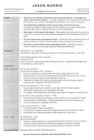 Examples Of Great Sales Resumes by Sample Resume Retail Store Manager Retail Resume Example Retail