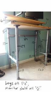Height Adjustable Desk Diy by Stand Up Desk Add On Best Home Furniture Decoration