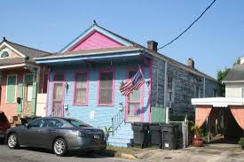new orleans colorful houses colorful shotgun house picture of faubourg marigny new orleans