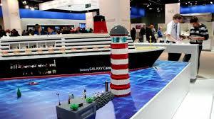 lego big ship queen elizabeth legoschiff köln 2012 youtube