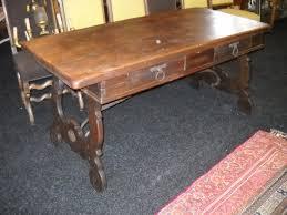 spanish style oak desk c1950 bureau en chene c1950 fred antiques