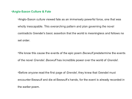 themes of beowulf poem themes of grendel