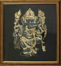 instuctions tanjore painting with added designs indusladies