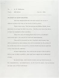letters of note in event of moon disaster