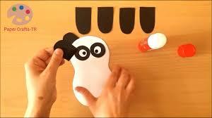 panda bear kids craft youtube