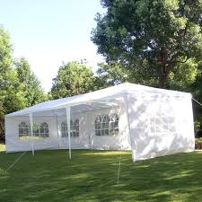 tent building 10 u0027 x 30 u0027 canopy outdoor wedding party tent gazebo pavilion w 5