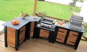 meuble cuisine d été cuisine d été castorama élégant meuble cuisine exterieure bois