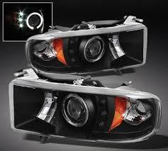 02 dodge ram headlights dodge ram 2500 sport 1999 2002 black halo projector headlights