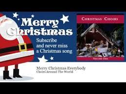 choirs around the world merry christmas everybody youtube