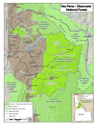 Idaho Fires Map Clearwater Nez Perce Closes Most Of Forest To Public Access As
