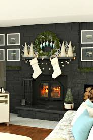 Blue And White Decorating Wintry Blue White Holiday Decorating Ideas Dans Le Lakehouse