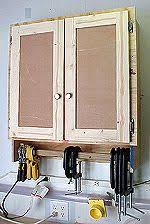 hand made garage cabinets and storage garages pinterest