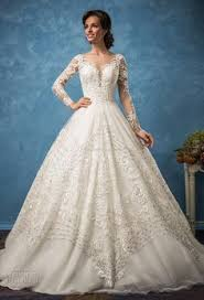 Hire A Wedding Dress The Narrow To Full Wedding Gown Reaches For The Bride That Is A