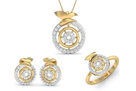 daily wear diamond earrings buy aditri daily wear diamond pendant set endear jewellery