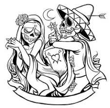 pin tracy moreau skulls bones coloring