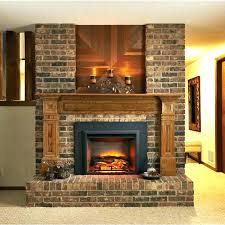 Fireplace Electric Insert Electric In Fireplace Electric Fireplace Insert In