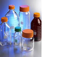 Plastic Bottles And Liquid Storage - culture media storage laboratory microbiology lab supplies