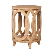 burke home decor interlocking circles accent table design by burke decor home