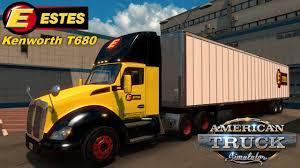 kenworth trucks near me american truck simulator kenworth t680 estes express quick trip