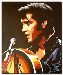 what pop stars pop and rock stars has died this year hand painted modern oil painting pop rock star art elvis presley