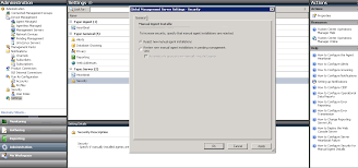 installing scom 2012 agent on a non domain workgroup windows
