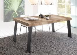Esszimmertisch Kaufen Esstisch 168 X 88 Cm Canyon Oak Nachbildung Metallfüsse Woody 12