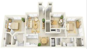 Cheap Small House Plans 50 Three U201c3 U201d Bedroom Apartment House Plans Architecture U0026 Design