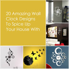 clock designs 20 amazing wall clock designs to spice up your house with 0 jpg