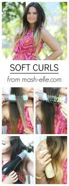 casual shaggy hairstyles done with curlingwands effortless curls with a ghd flat iron hairstyle hack loose