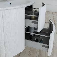 armadietto bagno con specchio mobile bagno sospeso frassino bianco 121 cm con specchio