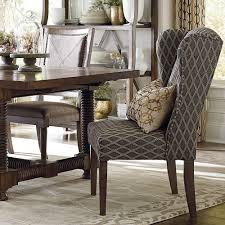 Upholstered Dining Room Chairs With Arms High Back Dining Room Chairs With Arms