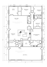 plan floor 40 60 shop house floor plans littleplanet me