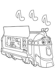 cartoon chuggington train coloring pages for kids womanmate com