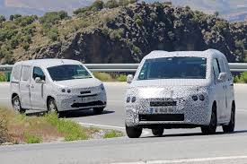 vauxhall combo new spyshots details of 2018 citroen berlingo peugeot partner