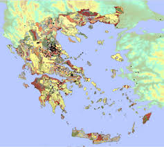 Greek Map The Greek Early Neolithic Following The Ophiolite Trail West