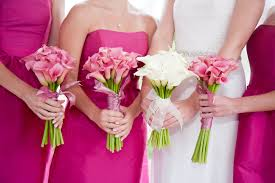 calla bouquets pink calla lilies wedding bouquet wedding corners