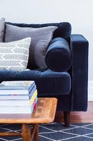 sofa furniture purple velvet sofa blue velvet furniture modern