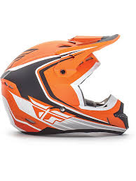 childrens motocross helmets fly racing matte orange black white 2016 kinetic fullspeed kids mx